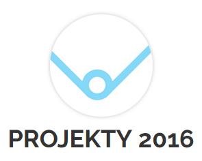 """Przycisk """"Projekty 2016"""""""