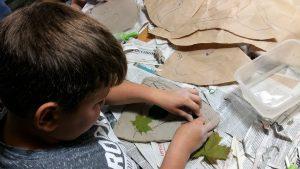 O czym szumią lipy – tworzymy mural